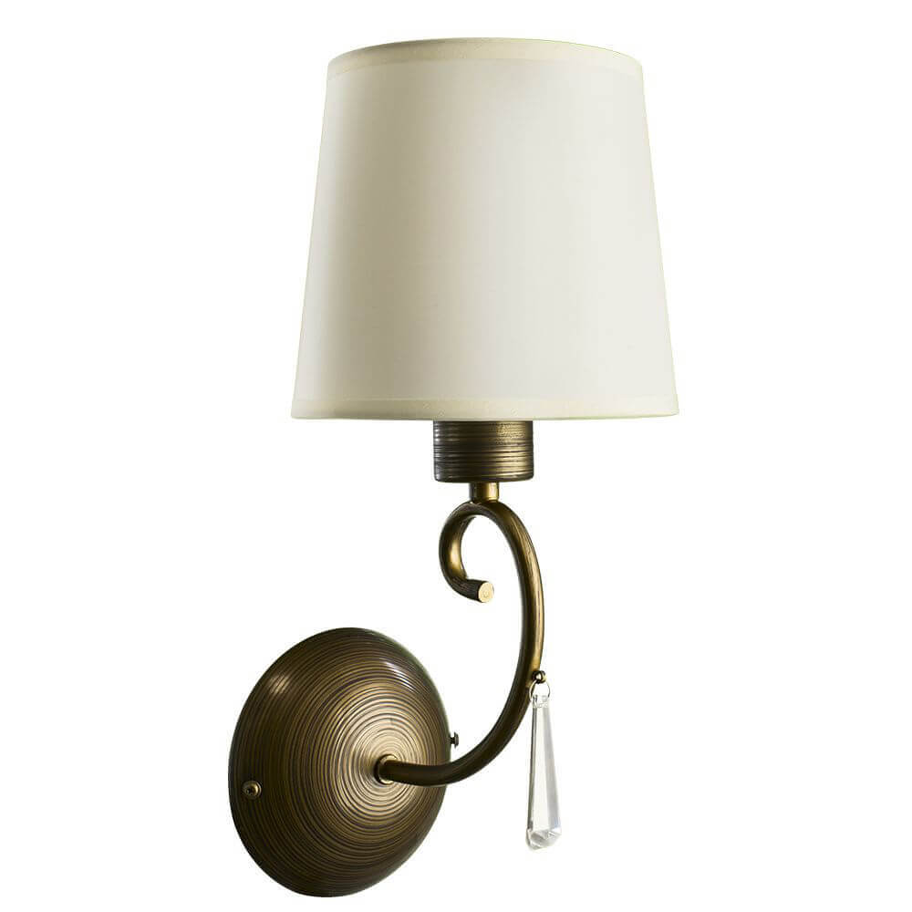 Бра Arte Lamp, Белый, A9239AP-1BR Carolina