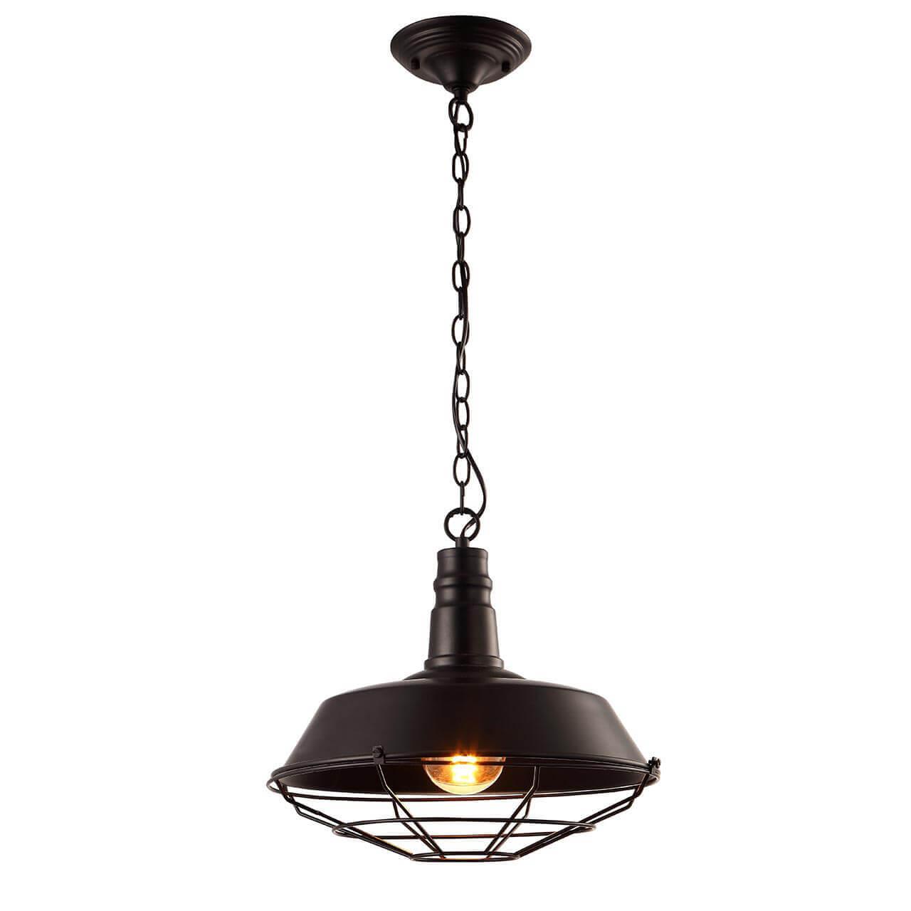 Светильник Arte Lamp A9183SP-1BK Ferrico Black потолочный светильник arte lamp ferrico a9183sp 1bk e27 60 вт