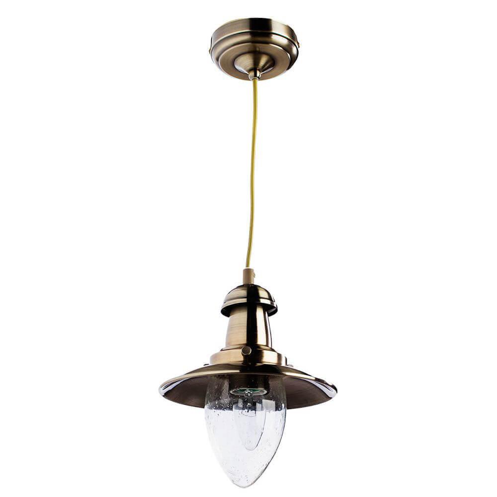 Светильник Arte Lamp A5518SP-1AB Fisherman Bronze светильник arte lamp a5530sp 1ab fisherman bronze