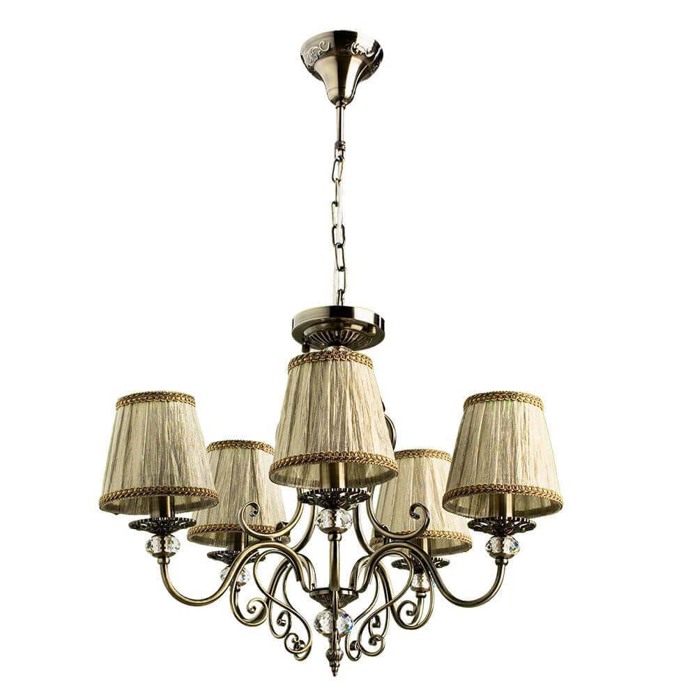 Подвесная люстра Arte Lamp Charm A2083LM-5AB цена в Москве и Питере