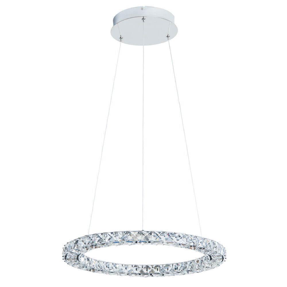 Подвесной светодиодный светильник Arte Lamp A6715SP-1CC подвесной светильник коллекция rimini a1091sp 1cc хром прозрачный arte lamp арте ламп
