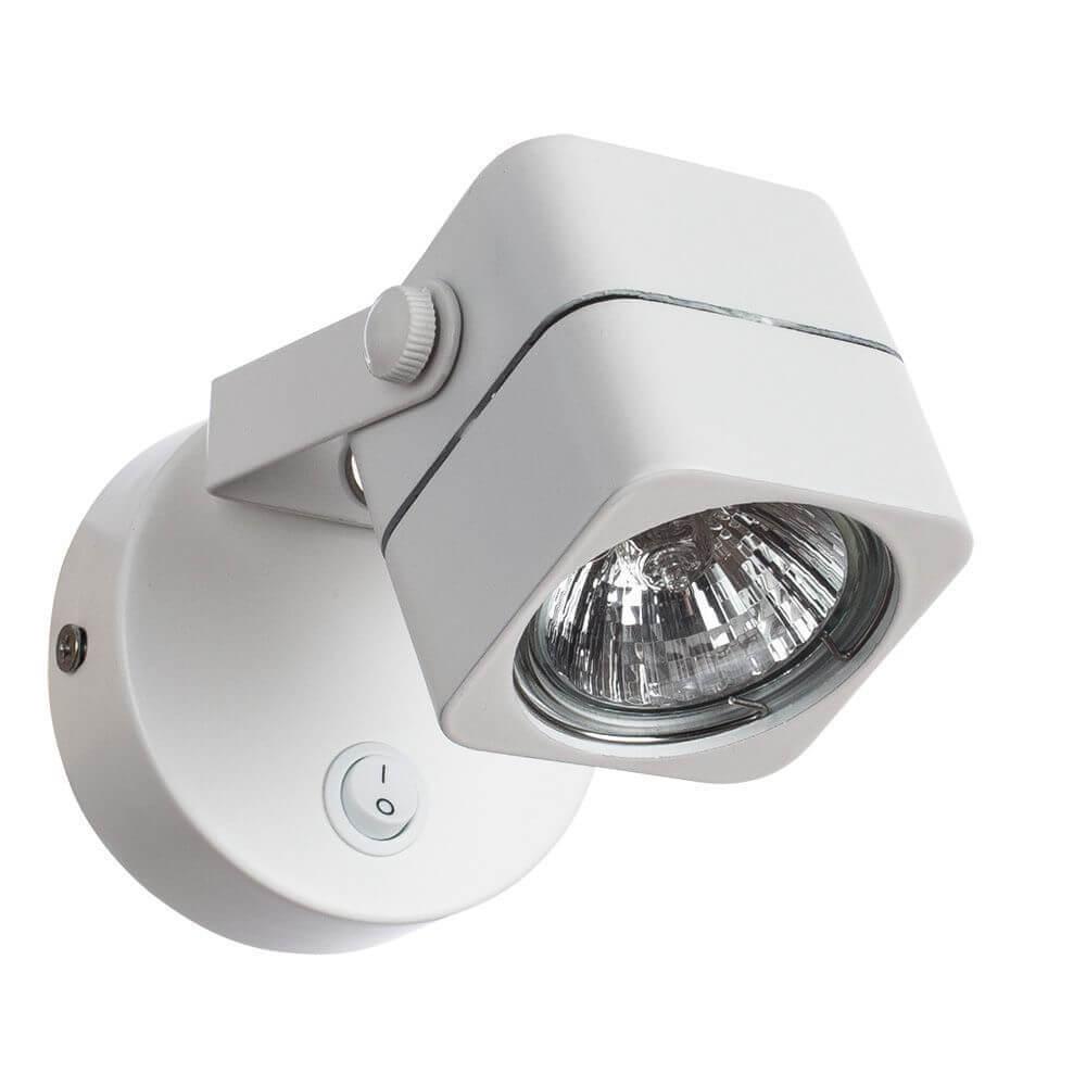 лучшая цена Спот Arte Lamp Lente A1314AP-1WH