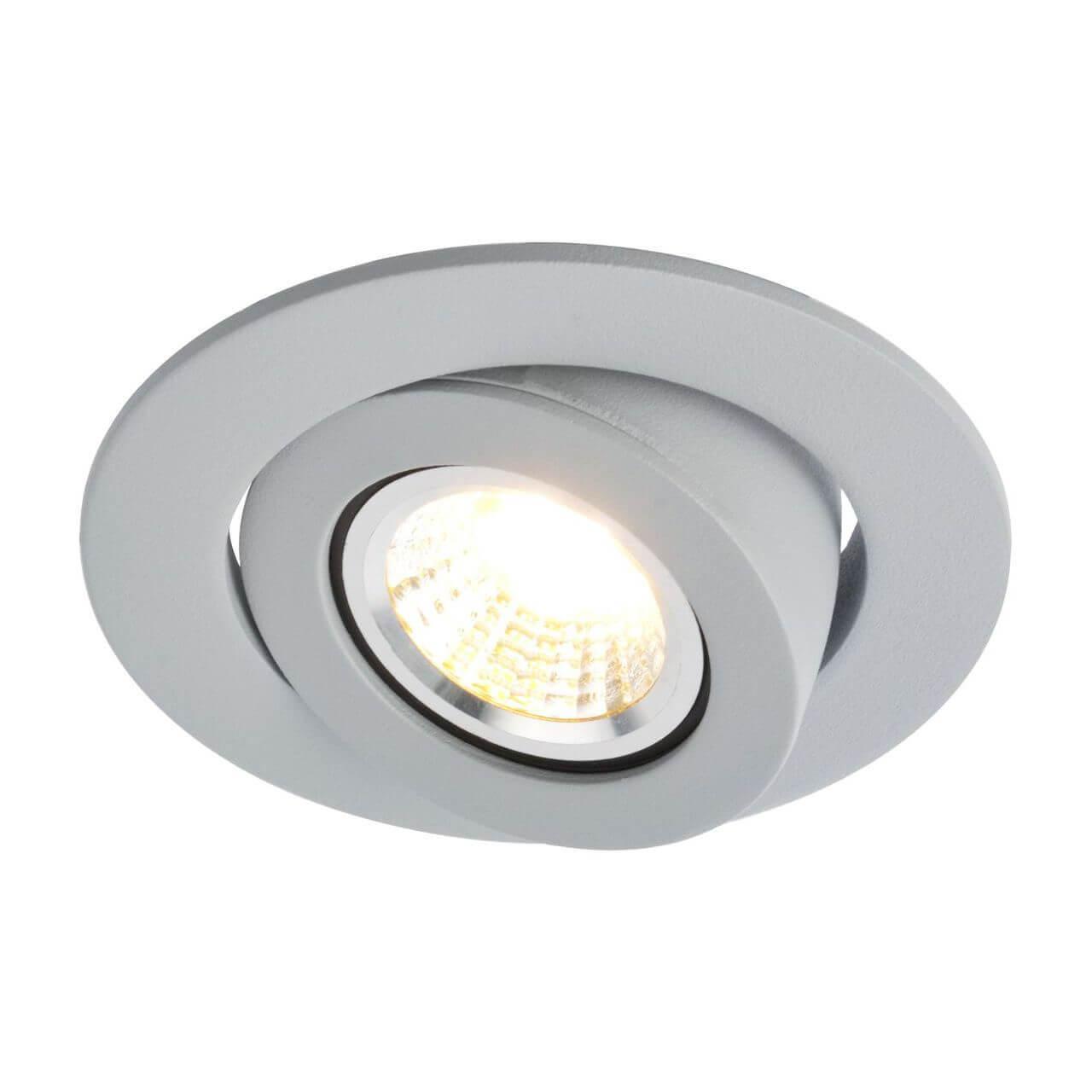 Встраиваемый светильник Arte Lamp Accento A4009PL-1GY встраиваемый светильник arte lamp accento a4009pl 1ss