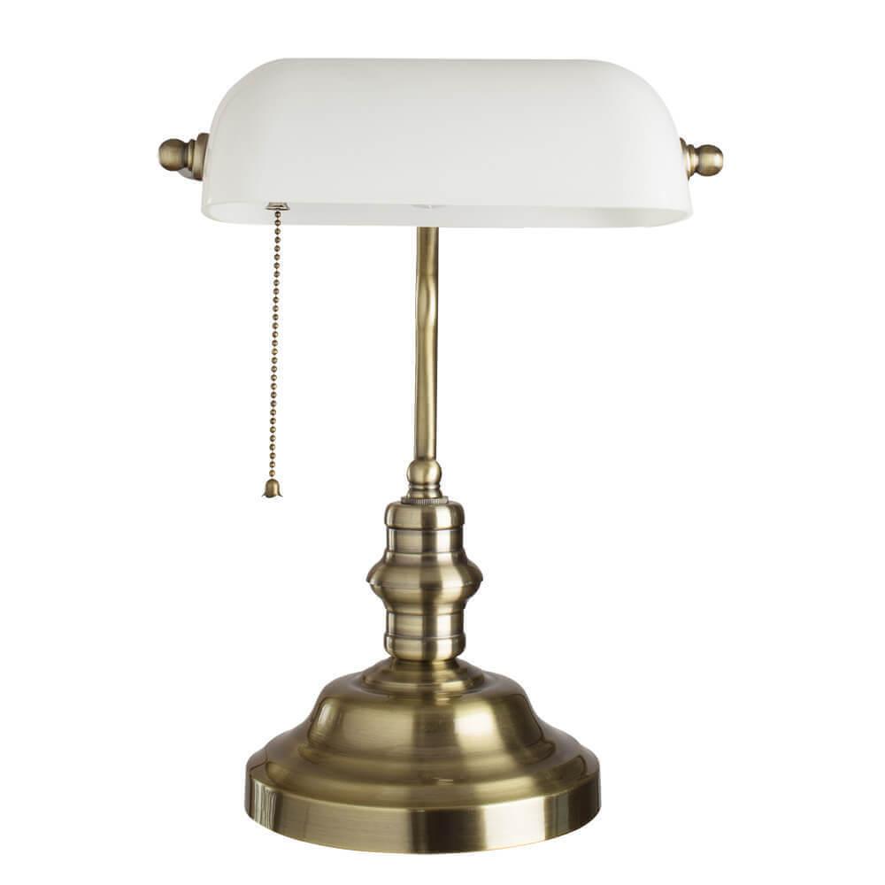 Настольная лампа Arte Lamp A2493LT-1AB Banker