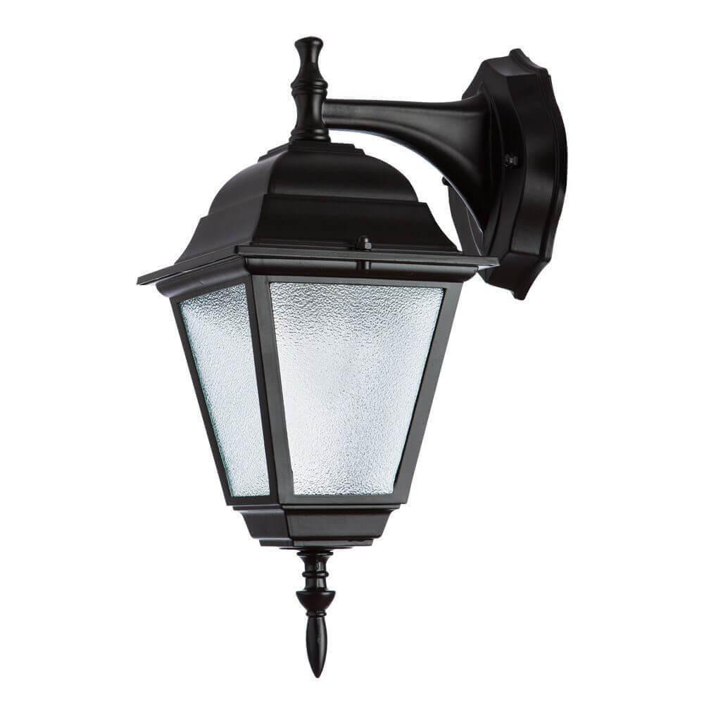 Уличный настенный светильник Arte Lamp Bremen A1012AL-1BK уличный светильник arte lamp bremen a1016pa 1bk