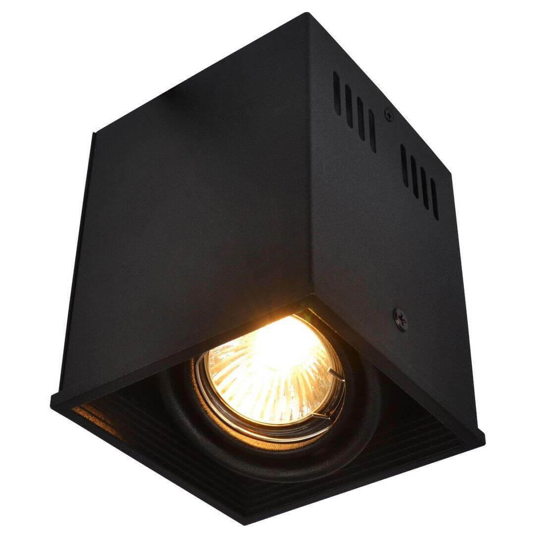 Светильник Arte Lamp A5942PL-1BK Cardani Black потолочный светильник arte lamp cardani black арт a5936pl 1bk