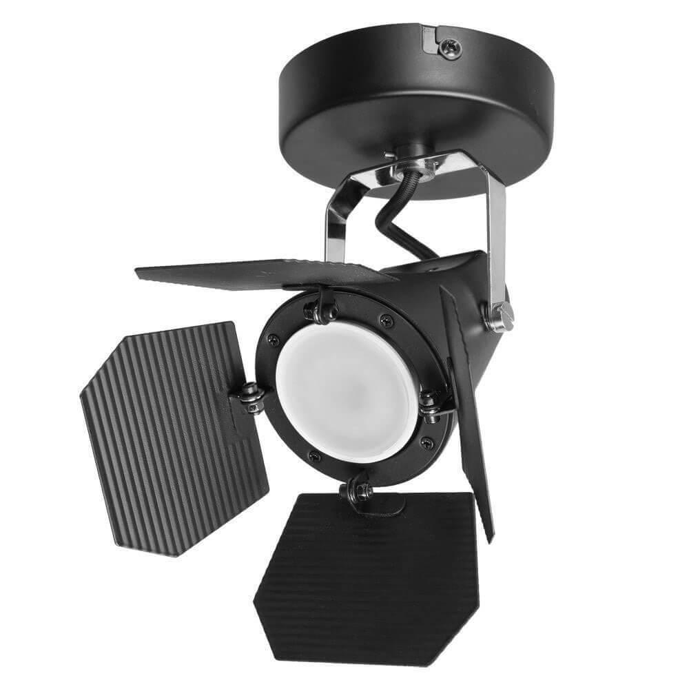 Спот Arte Lamp Cinema A3092AP-1BK спот cinema a3092ap 2wh