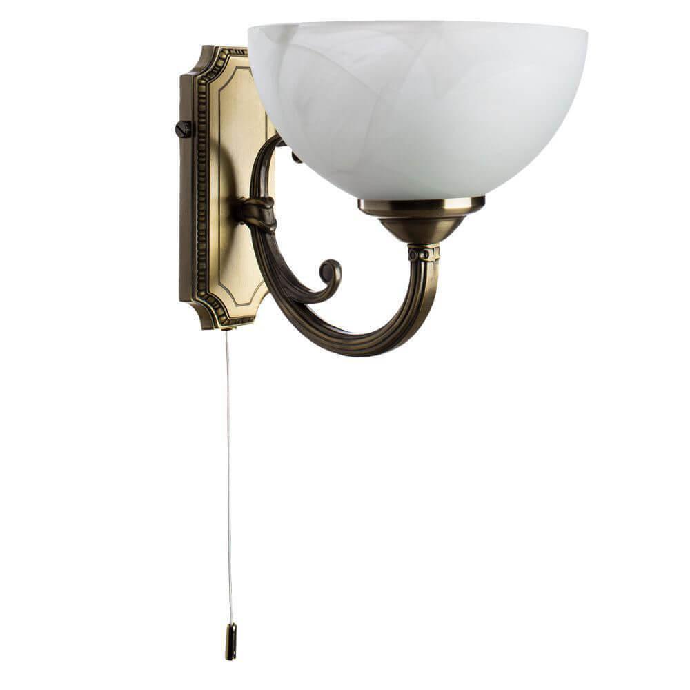 Бра Arte Lamp A3777AP-1AB Windsor White