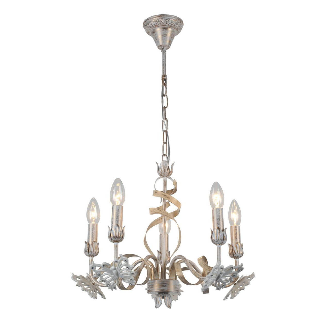 Люстра Arte Lamp A8626LM-5WG Libellula люстра подвесная arte lamp подвесная a1511lm 5wg