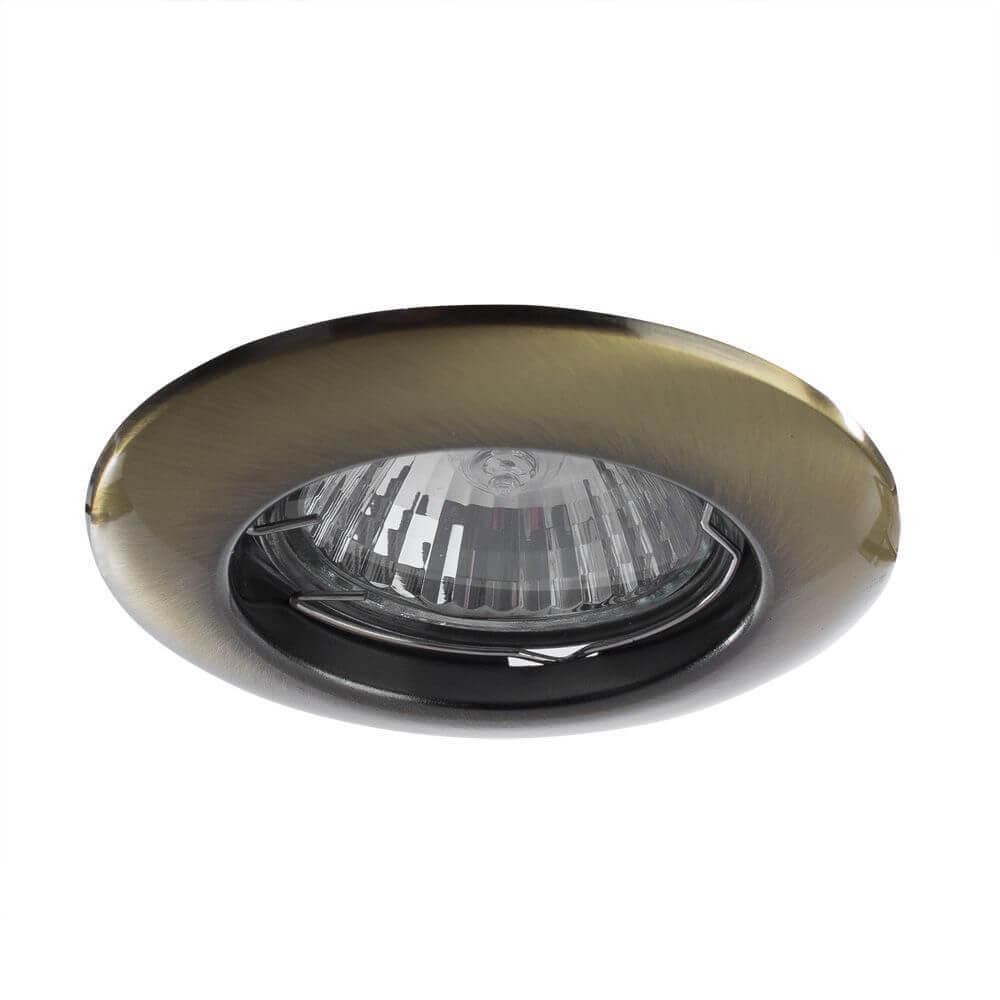 Светильник Arte Lamp A1203PL-1AB Praktisch встраиваемый светильник arte lamp a1203pl 1go