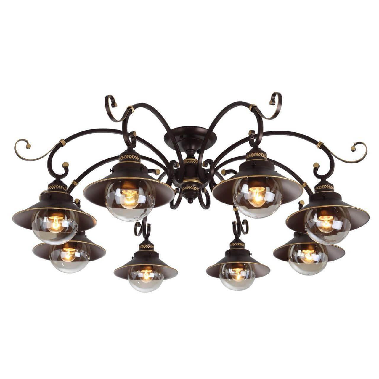 Люстра Arte Lamp A4577PL-8CK 7 Brown потолочная люстра arte lamp a4577pl 8ck