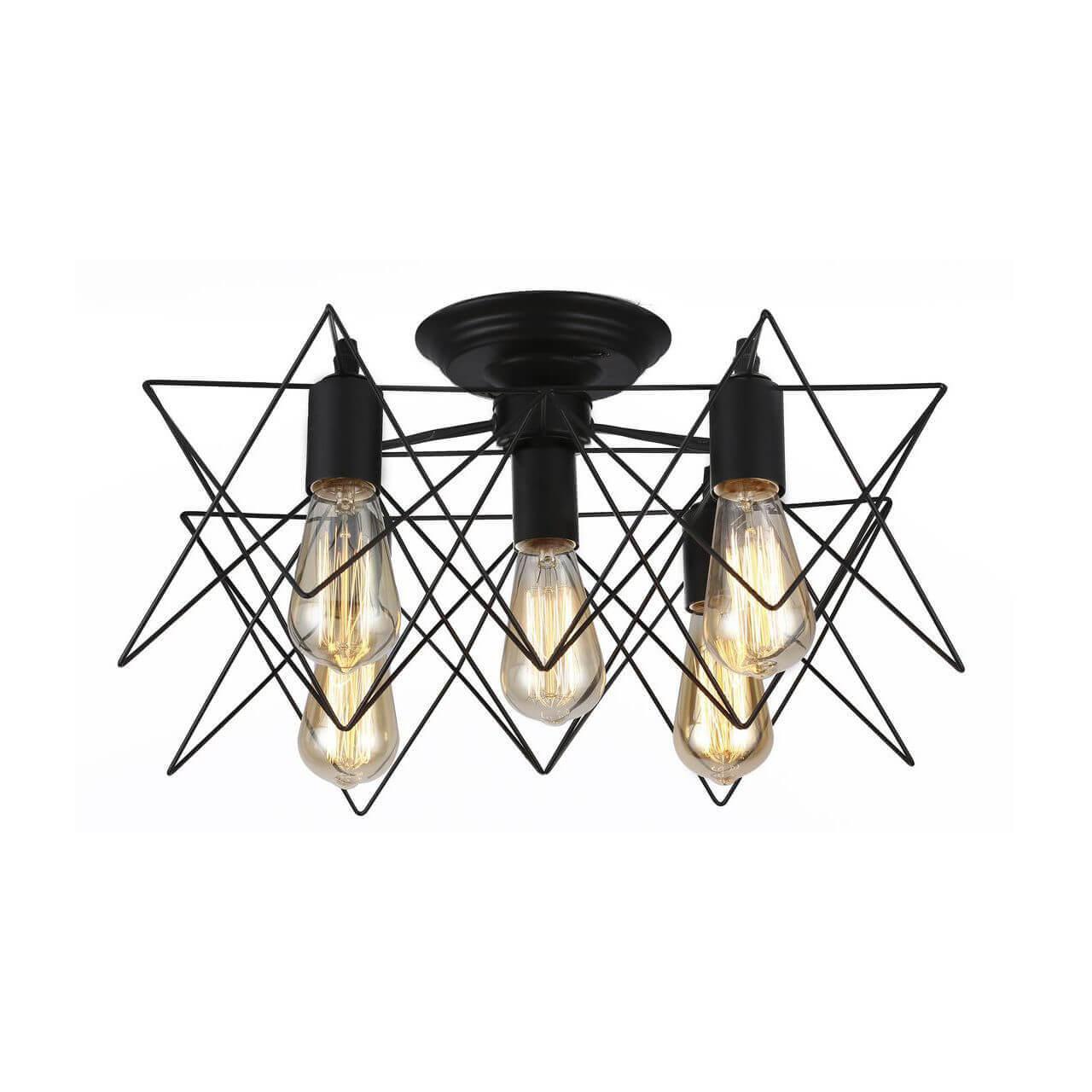 Люстра Arte Lamp A6048PL-5BK 6048 накладная люстра a7144pl 5bk arte lamp