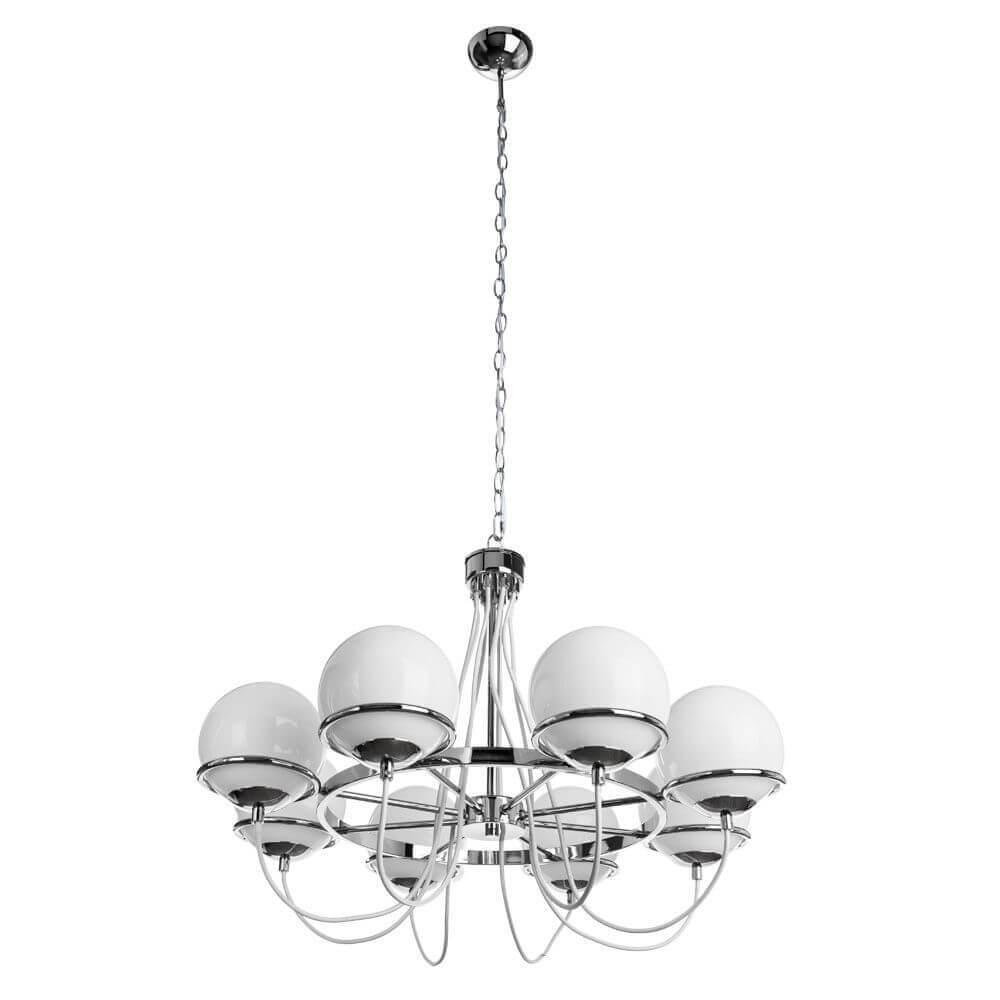 Люстра Arte Lamp A2990LM-8CC Bergamo Chrome