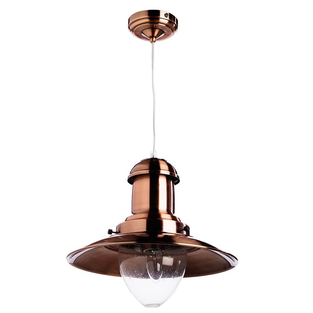 Подвесной светильник Arte Lamp Fisherman A5530SP-1RB цена 2017