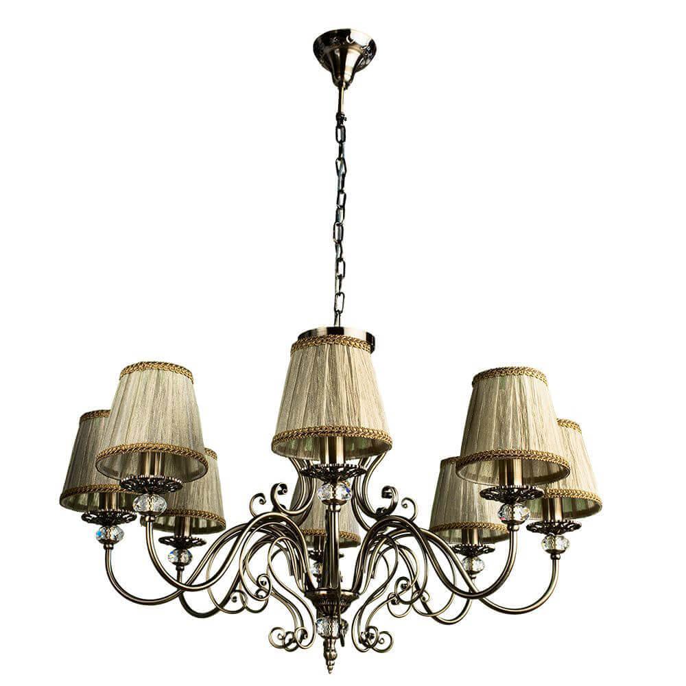 Подвесная люстра Arte Lamp Charm A2083LM-8AB цена в Москве и Питере