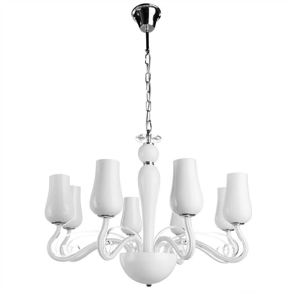 цены Люстра Arte Lamp A8110LM-8WH Biancaneve