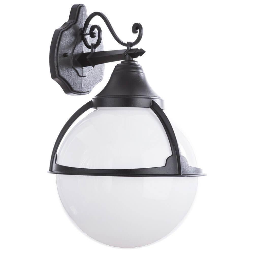 Уличный настенный светильник Arte Lamp Monaco A1492AL-1BK цена 2017
