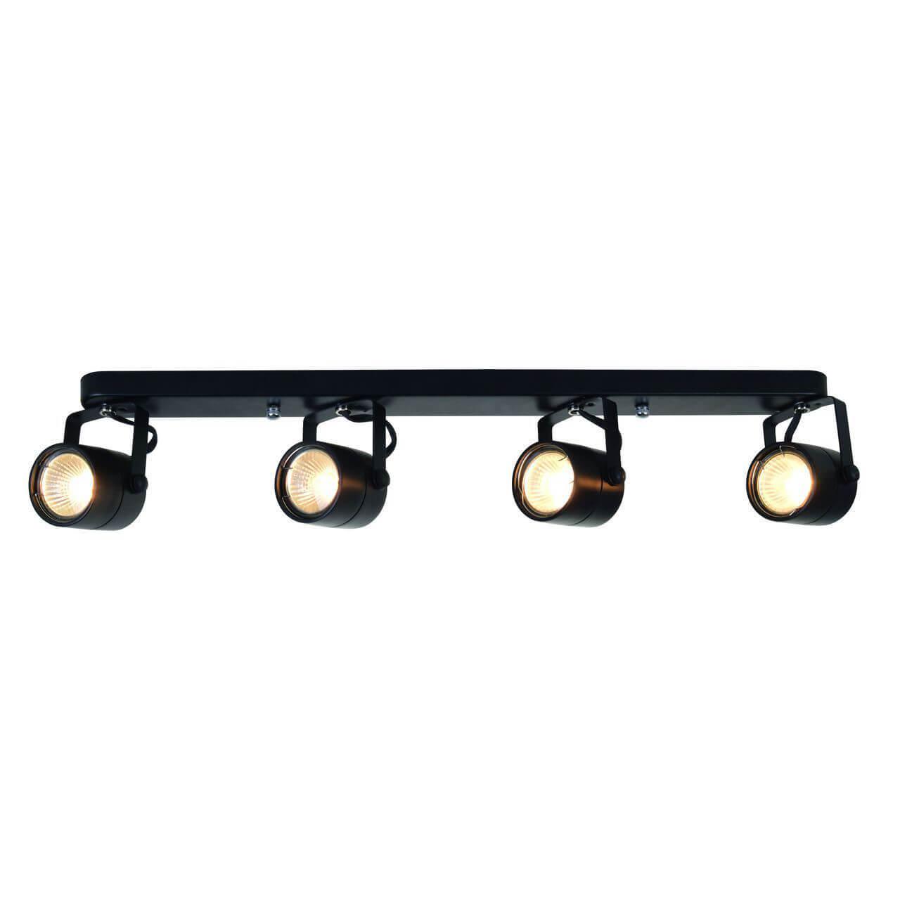 Спот Arte Lamp A1310PL-4BK Lente Black недорого