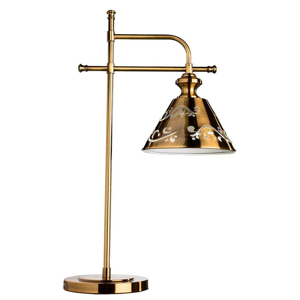 Настольная лампа Arte Lamp Kensington A1511LT-1PB цена 2017