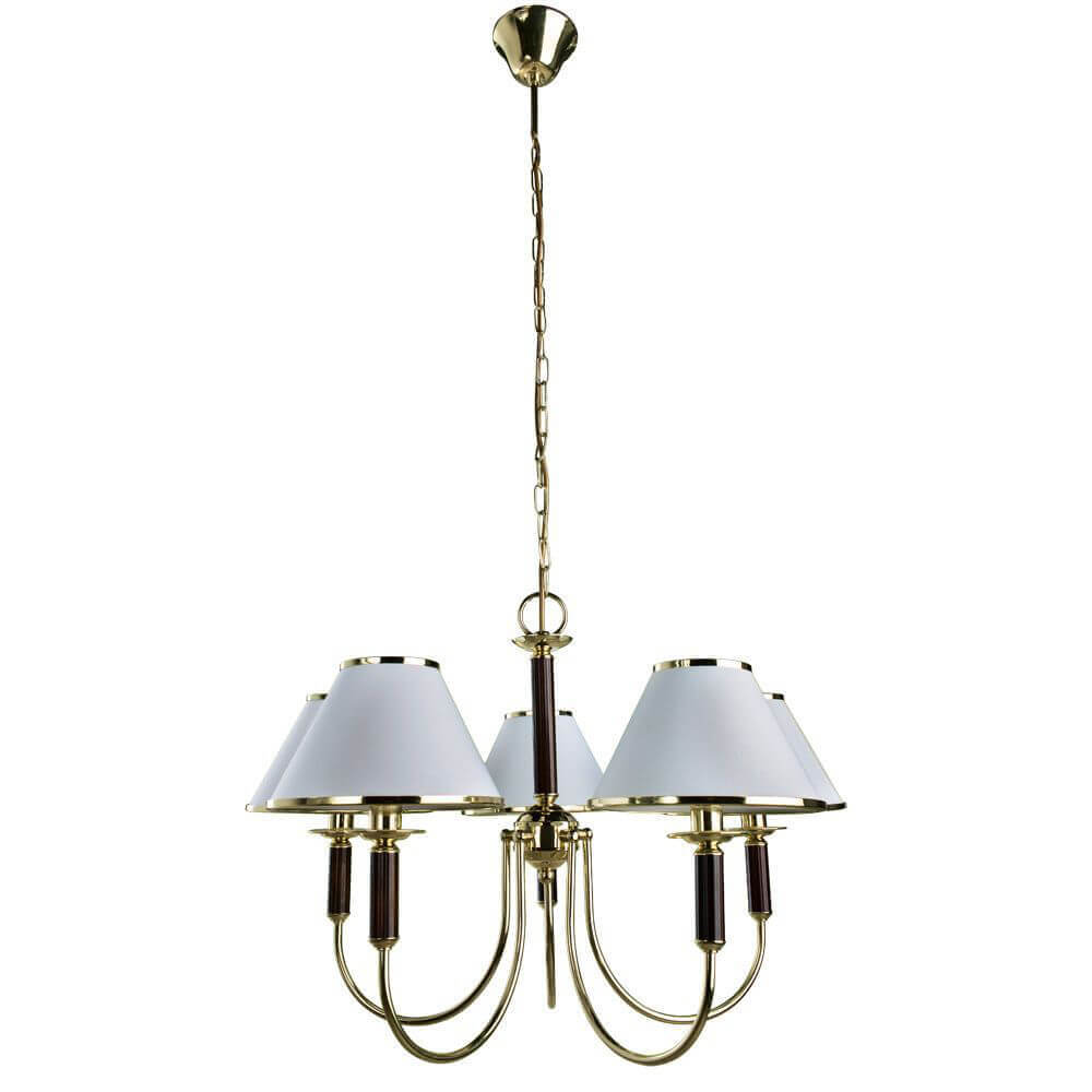 Люстра Arte Lamp A3545LM-5GO Catrin