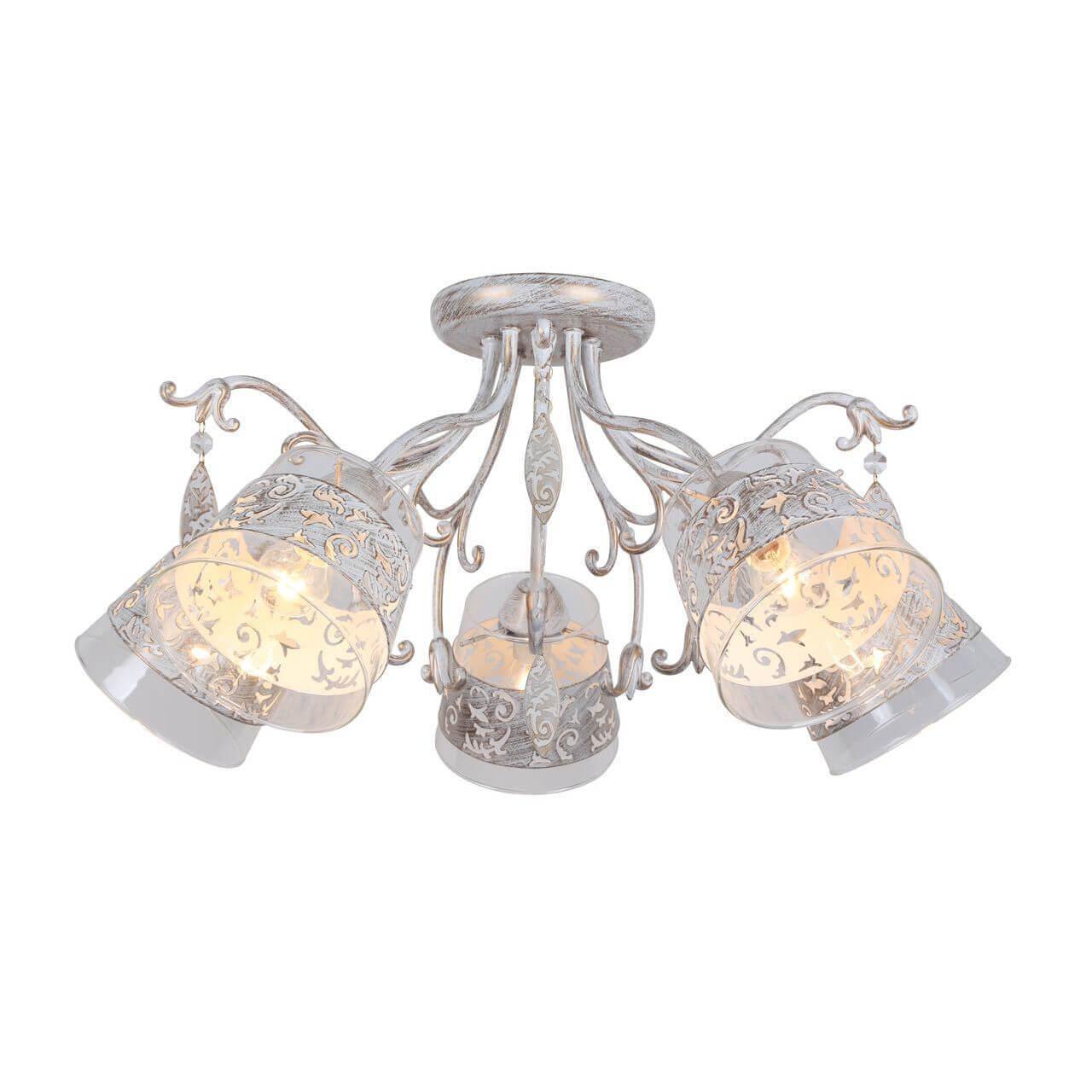 цена Люстра Arte Lamp A9081PL-5WG Calice онлайн в 2017 году
