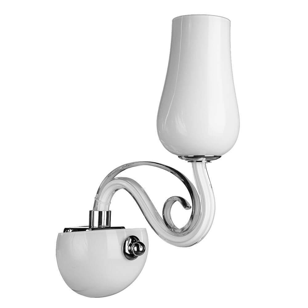 Бра Arte Lamp A8110AP-1WH Biancaneve бра arte lamp prima a9140ap 1wh