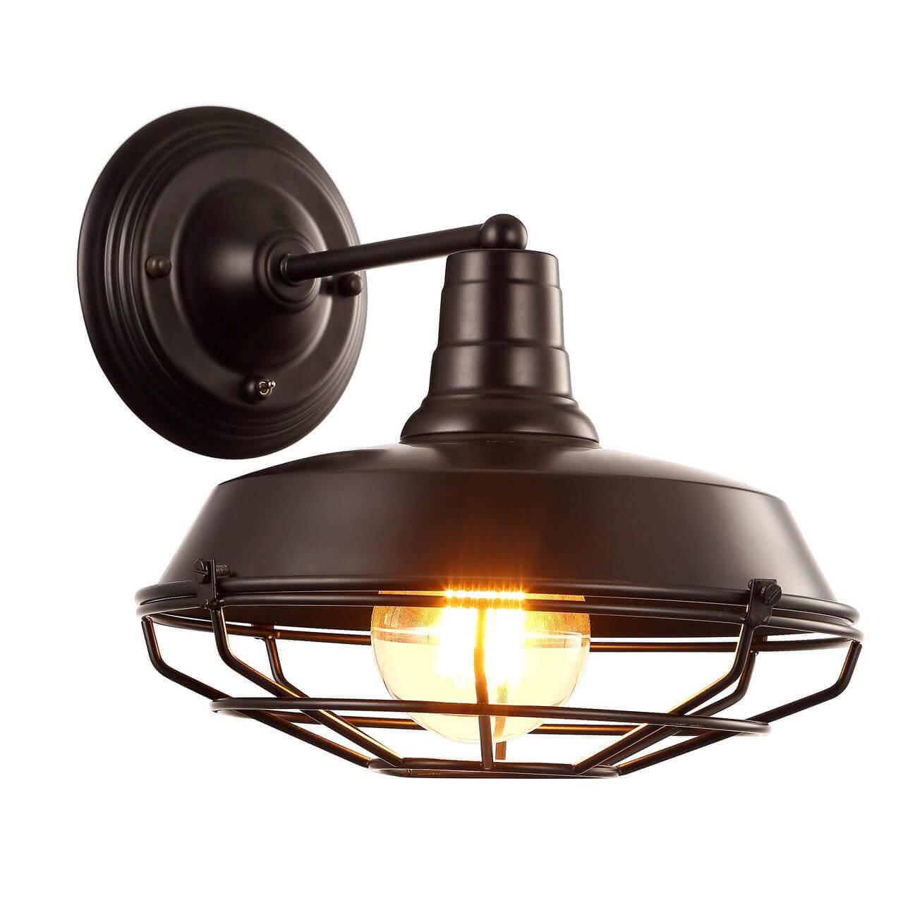Бра Arte Lamp Ferrico A9183AP-1BK бра arte lamp ferrico a9183ap 1br