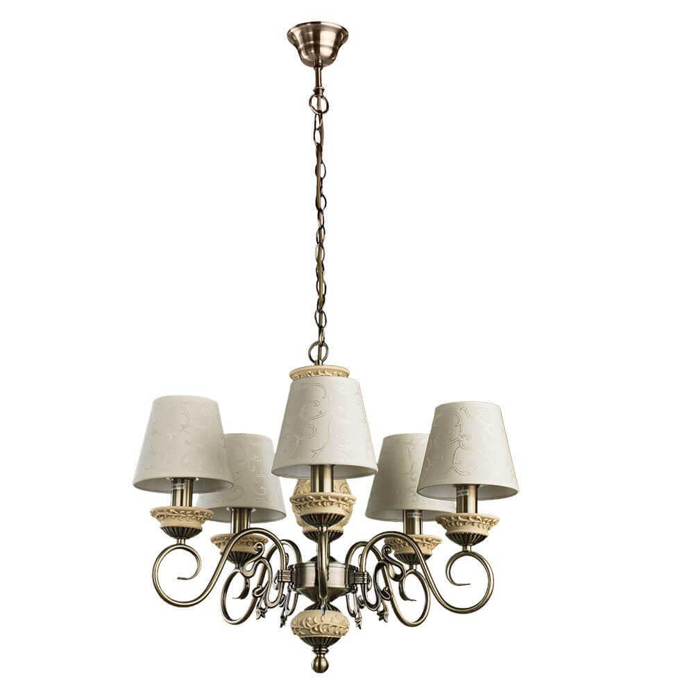 Люстра Arte Lamp A9070LM-5AB Ivory