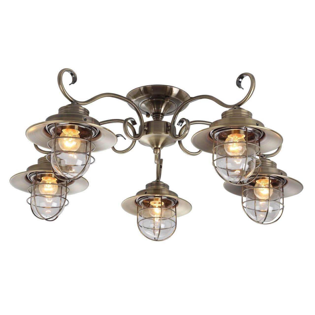 Потолочная люстра Arte Lamp 6 A4579PL-5AB цена 2017