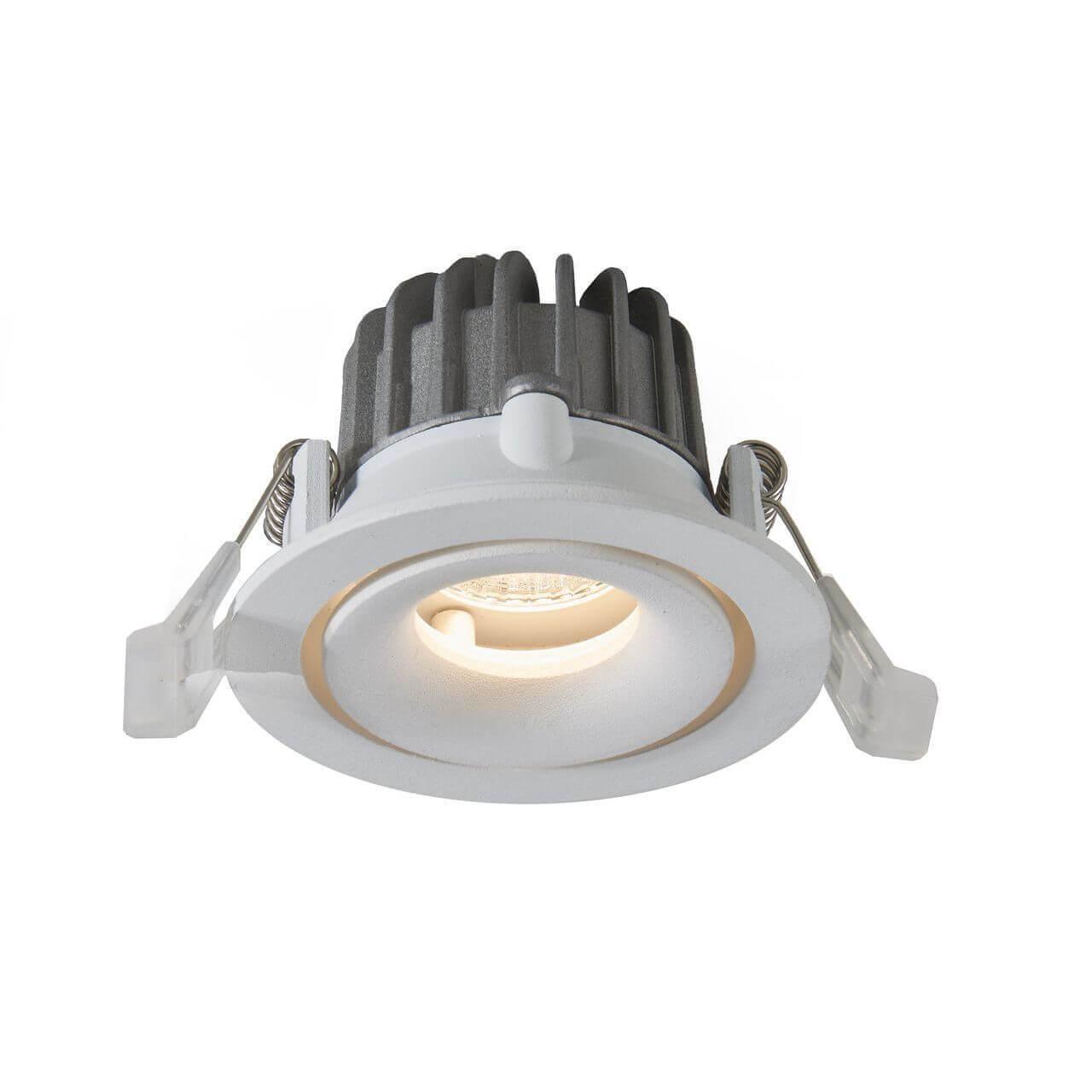 Встраиваемый светодиодный светильник Arte Lamp Apertura A3307PL-1WH встраиваемый светодиодный светильник arte lamp apertura a3315pl 1wh