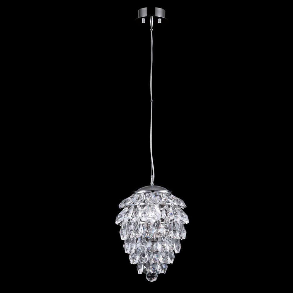 Светильник Crystal Lux Charme SP1+1 Led Chrome/Transparent Charme