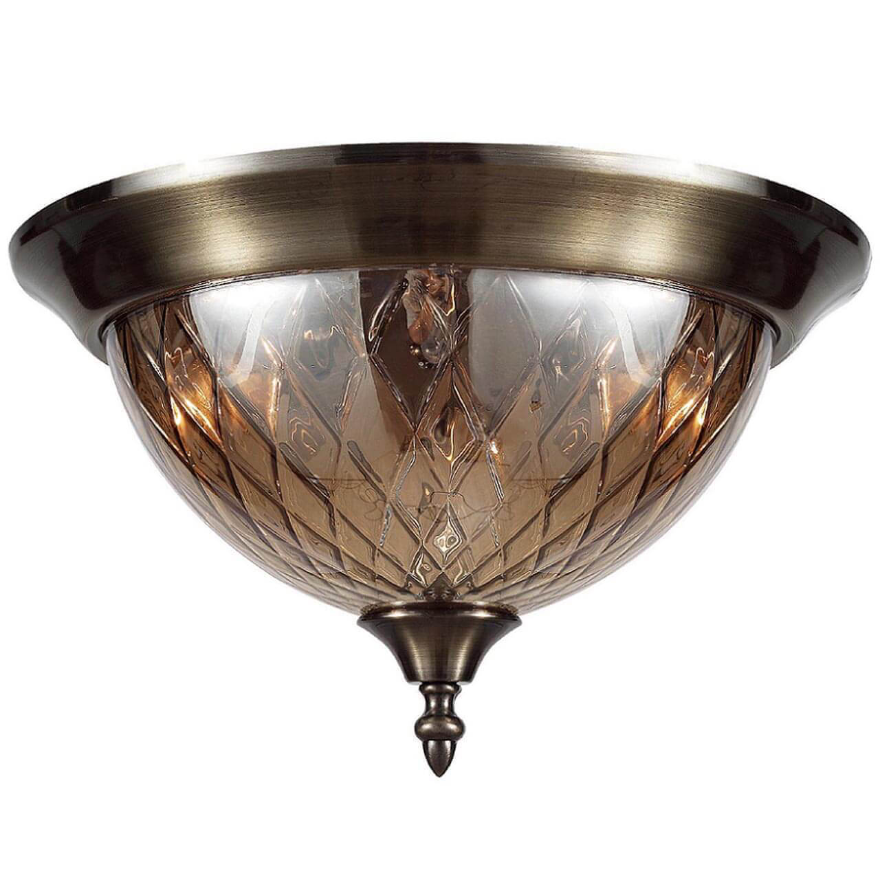 Светильник Crystal Lux NUOVO PL3 BRONZE Nuovo
