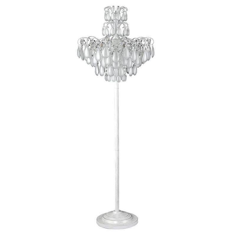 Фото - Торшер Crystal Lux Sevilia PT4 Silver Sevilia подвесная люстра crystal lux sevilia sp9 silver