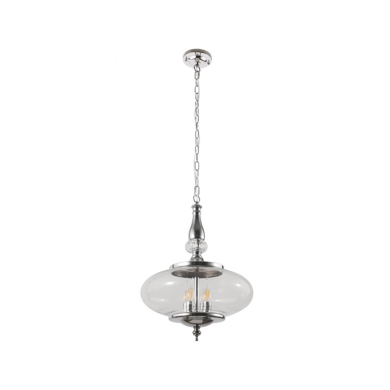 Подвесной светильник Crystal Lux Miel SP4 Chrome цена и фото