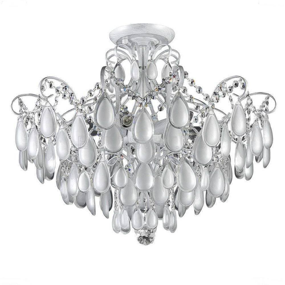 лучшая цена Потолочная люстра Crystal Lux Sevilia PL6 Silver