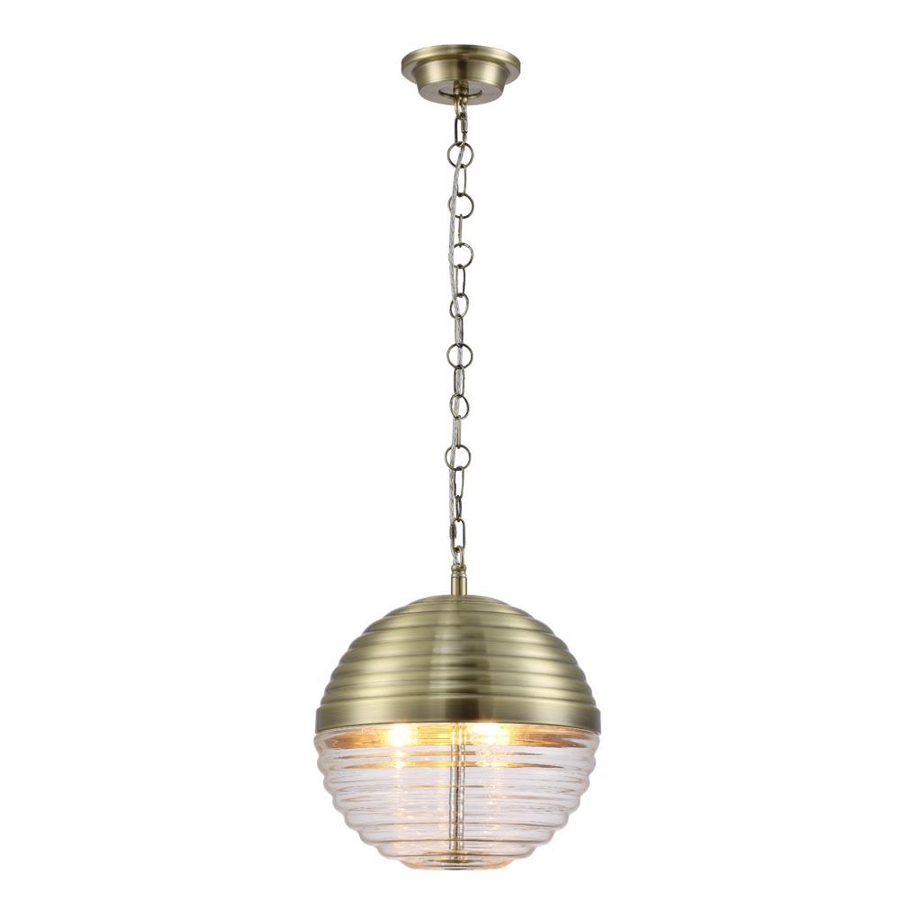 Светильник Crystal Lux Alberto SP3 Bronze/Transparente Alberto