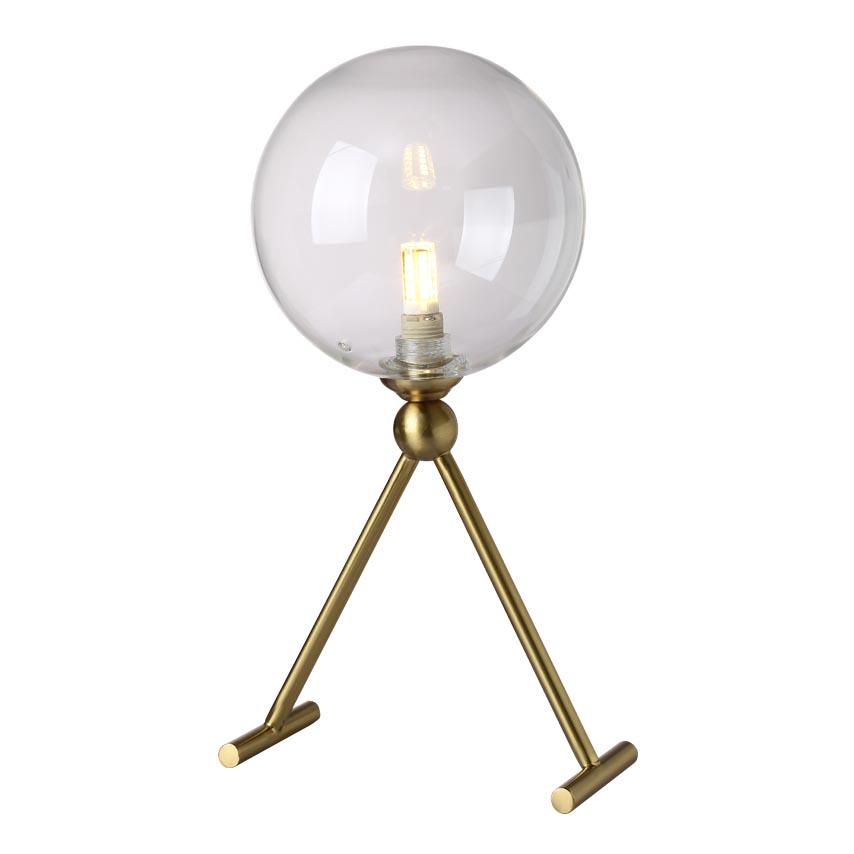 Настольная лампа Crystal Lux Andres LG1 Bronze/Transparente Andres andres mann tess