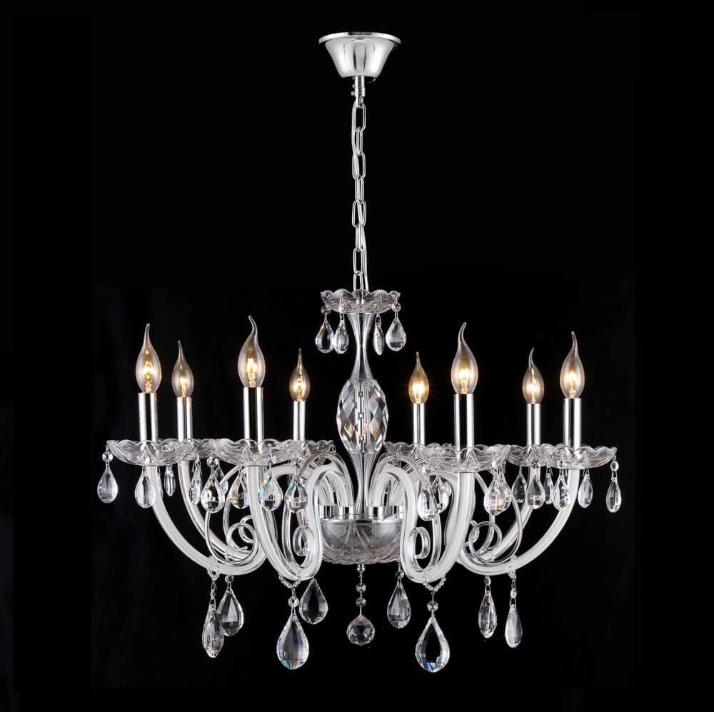все цены на Подвесная люстра Crystal Lux Glamour SP-PL8 онлайн