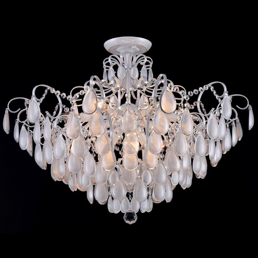 Фото - Люстра Crystal Lux Sevilia PL9 Silver Sevilia подвесная люстра crystal lux sevilia sp9 silver