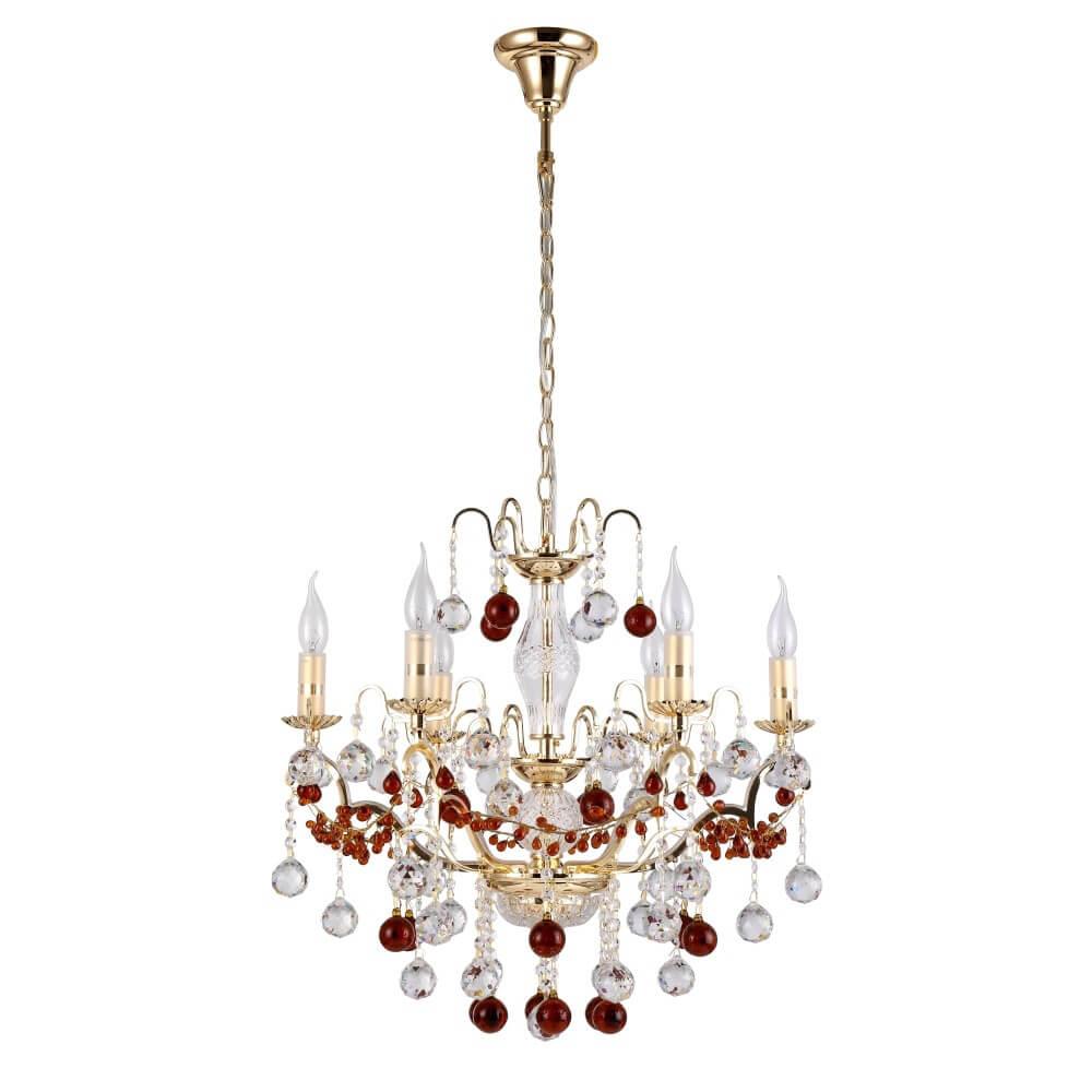 Люстра Crystal Lux FRUTA SP6 GOLD Fruta подвесная люстра crystal lux olimpo sp6
