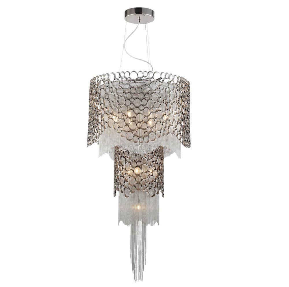 все цены на Подвесной светильник Crystal Lux Hauberk Sp-PL8+4 онлайн
