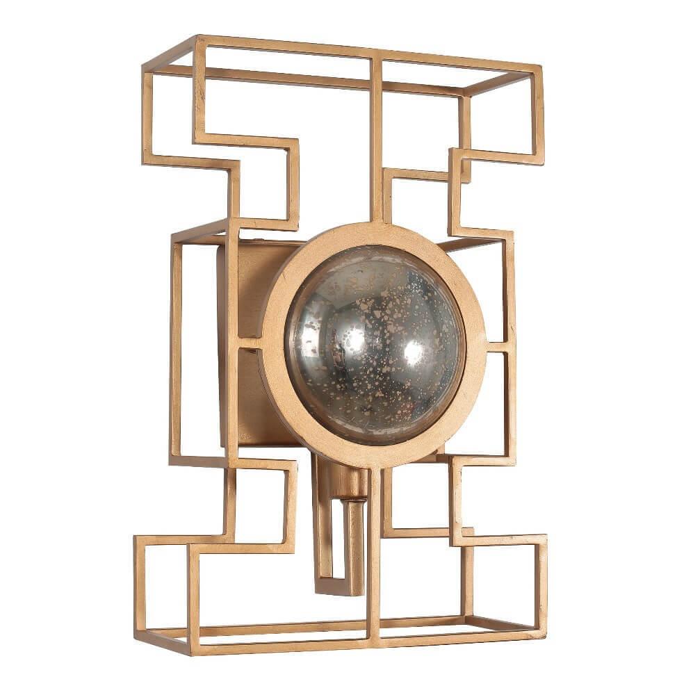 Настенный светильник Crystal Lux Cuento AP1 Gold
