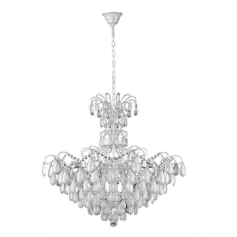 Фото - Люстра Crystal Lux Sevilia SP9 Silver Sevilia подвесная люстра crystal lux sevilia sp9 silver