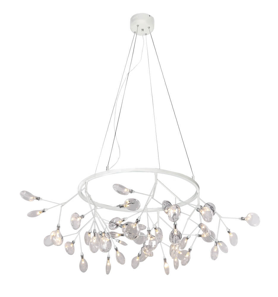 Люстра Crystal Lux Evita SP45 D White/Transparent