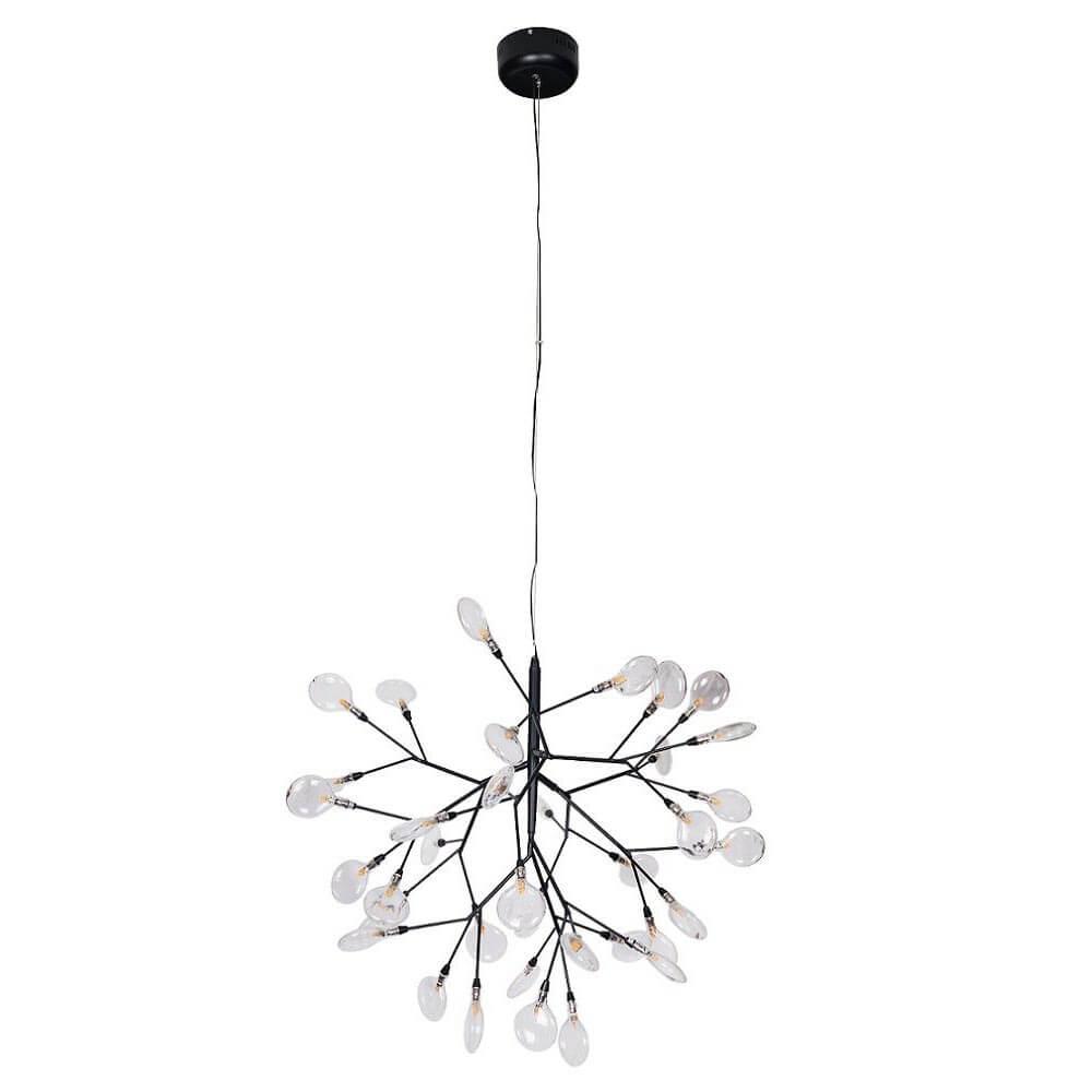 Люстра Crystal Lux Evita SP36 Black/Transparent Evita