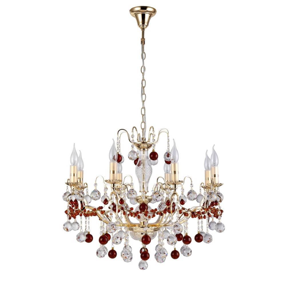 Люстра Crystal Lux FRUTA SP8 GOLD Fruta подвесная люстра crystal lux elisa sp8