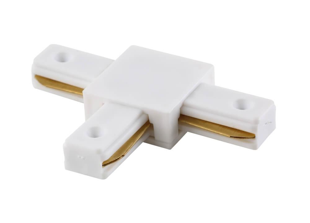 Соединитель Crystal Lux CLT 0.211 03 WH CLT 0.211 (для однофазного шинопровода) фото