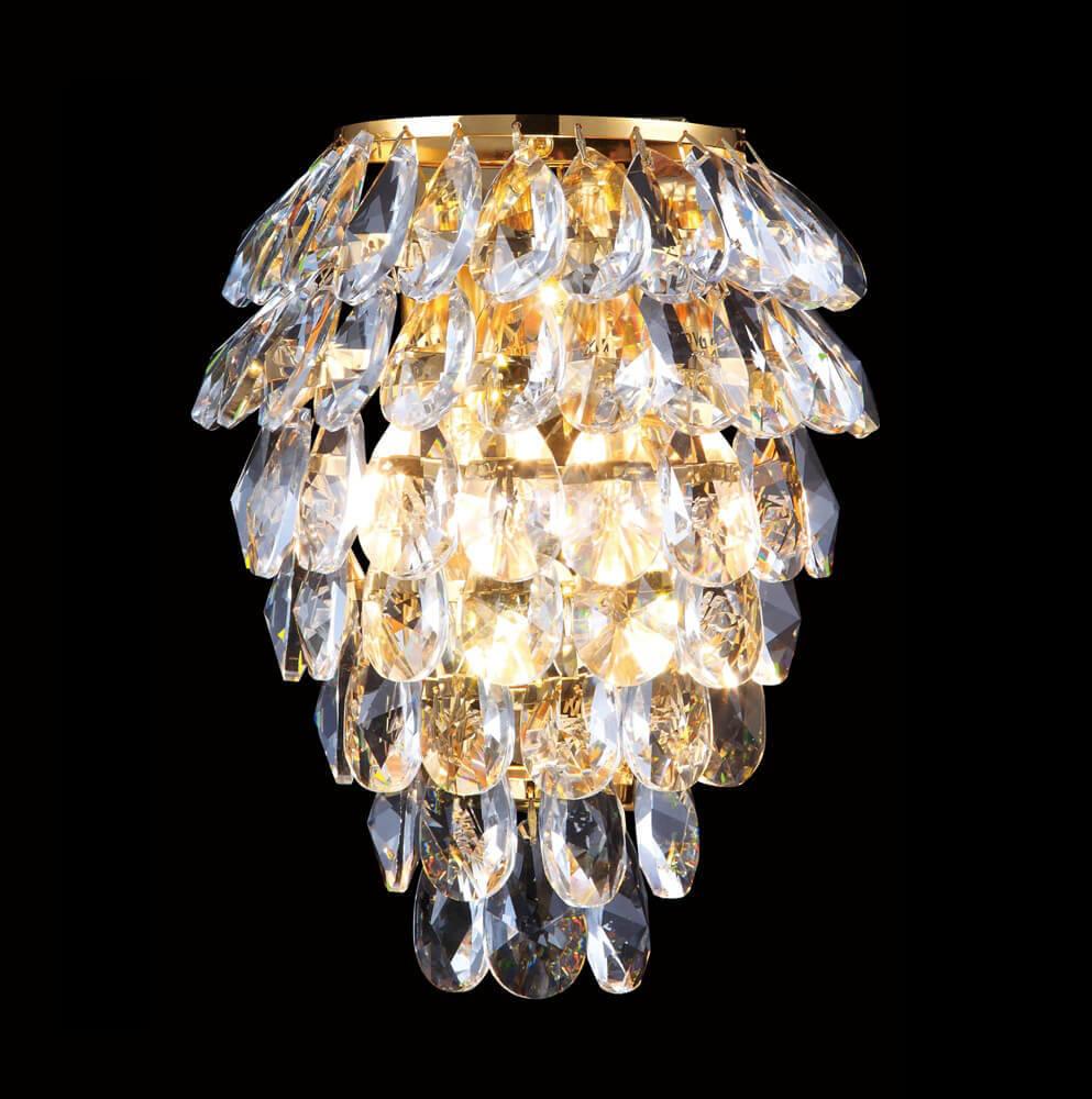 Светильник Crystal Lux Charme AP3 Gold/Transparent Charme
