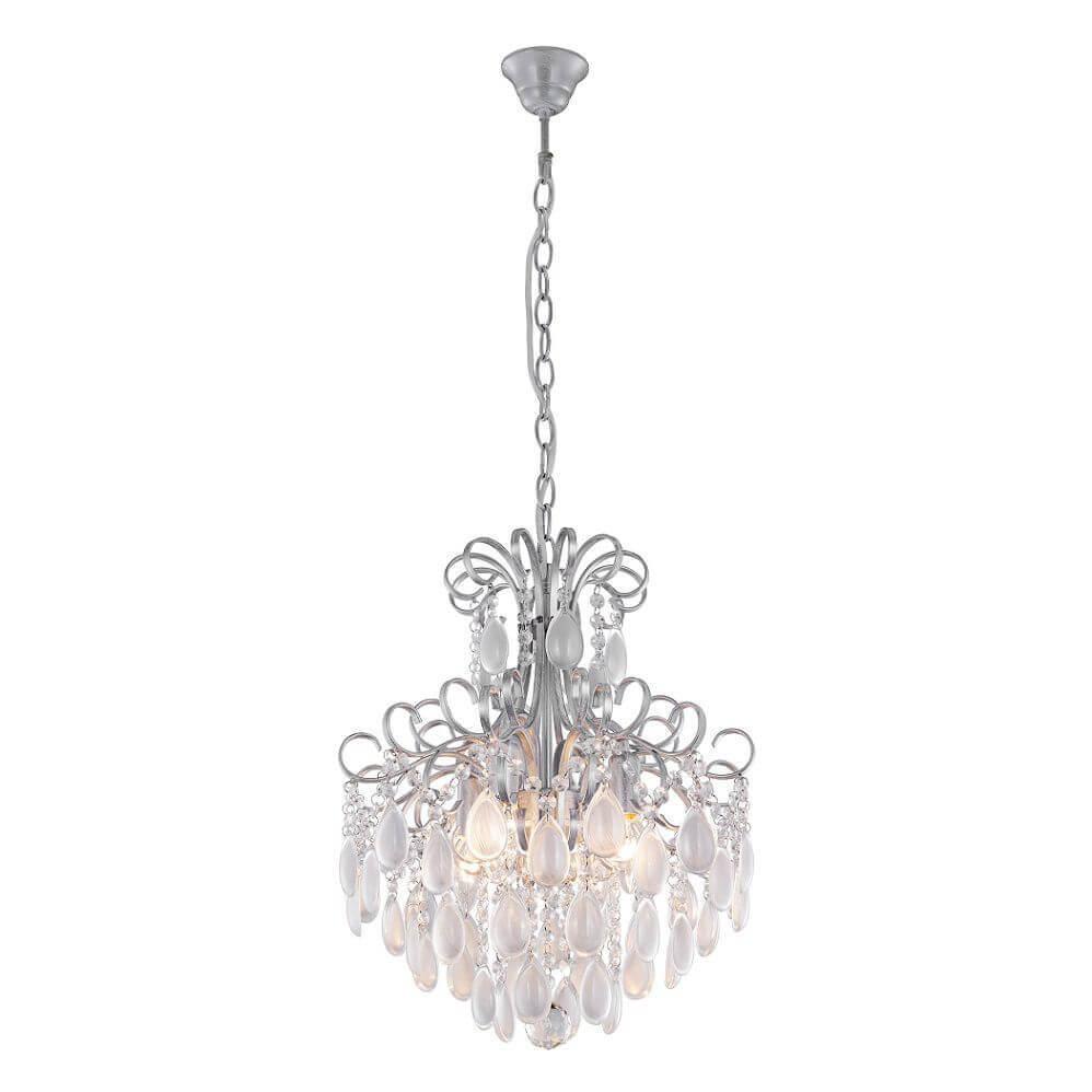 Фото - Люстра Crystal Lux Sevilia SP4 Silver Sevilia подвесная люстра crystal lux sevilia sp9 silver