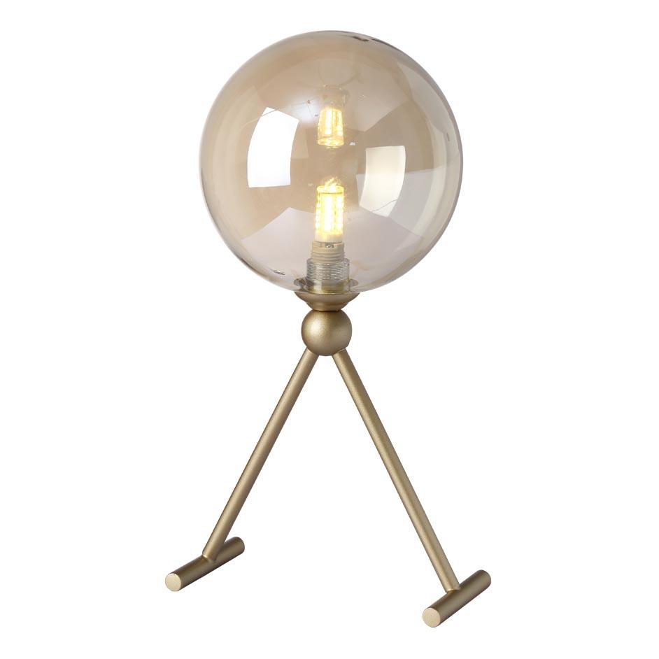 Настольная лампа Crystal Lux Francisca LG1 Gold/Cognac Francisca недорого